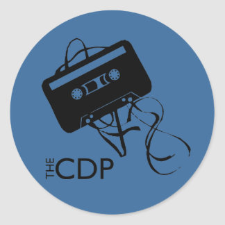 CDP Blue Mix-Tape Sticker