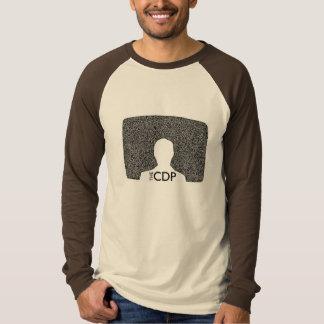 CDP Men's White Noise Raglan T-Shirt