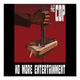 CDP Propaganda Poster