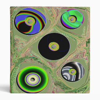 CD's in Abstract Binder