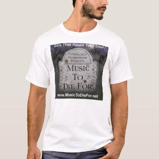 CDs That Haunt Your Soul Logo w/Petruccelli Prod. T-Shirt