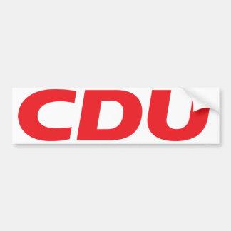CDU Logo Bumper Sticker