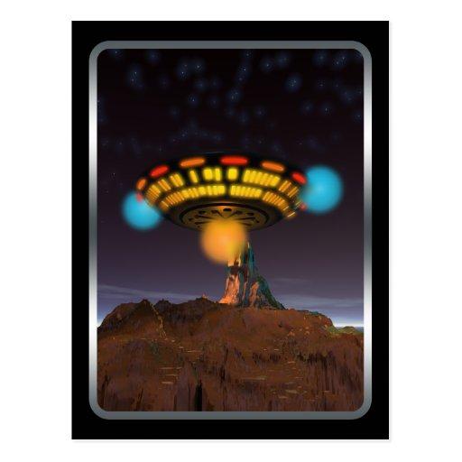 CE3K UFOs V1 Postcard