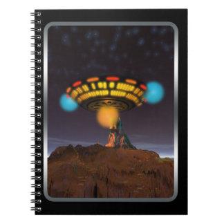 CE3K UFOs V1 Spiral Notebooks
