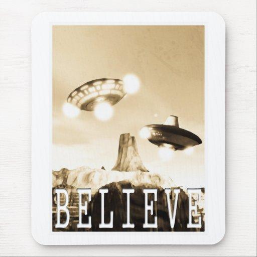 CE3K UFOs V2 CREEN Mousepad Alfombrillas De Ratón