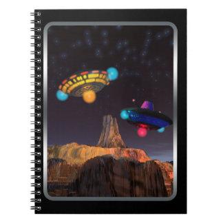 CE3K UFOs V2 Spiral Note Books