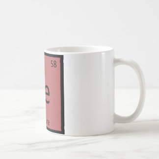 Ce - Cayenne Pepper Chemistry Periodic Table Spice Coffee Mug