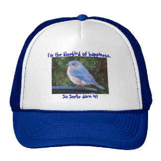 CE- Funny Bluebird of Hsppiness Hat