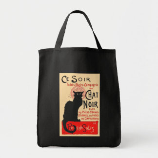 Ce Soir Le Chat Noir, Théophile Steinlen Canvas Bag