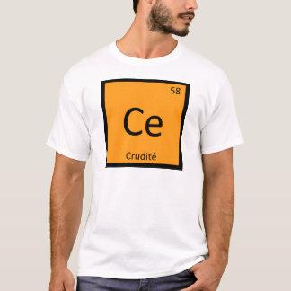 Ce - tabla periódica de la química del aperitivo playera