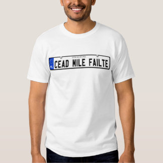 Cead Mile Failte - Donegal - Irish Plate Shirt