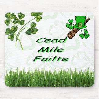 Cead Mile Failte Mouse Pad