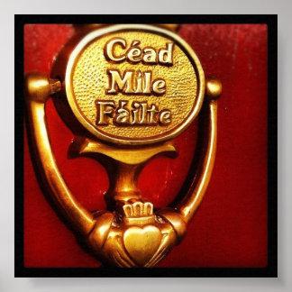 Cead Mile Failte Poster