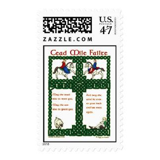 Cead Mile Failte Saint Patrick's Day Stamps