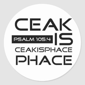 Ceakisphace Round Stickers