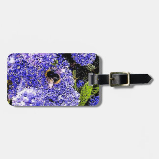 Ceanothus Flower Bee Luggage Tag