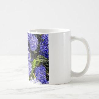 Ceanothus Flower Bee Mug