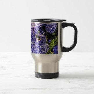 Ceanothus Flower Bee Coffee Mugs