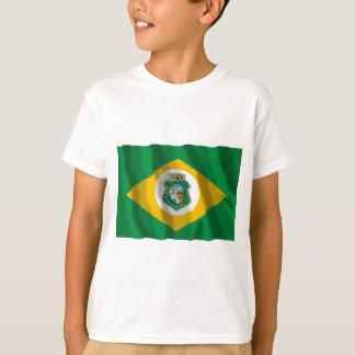 Ceará, bandera que agita del Brasil Poleras