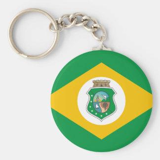 Ceara Brasil, Brazil flag Keychains
