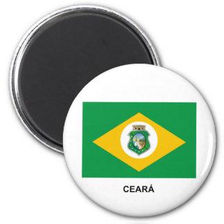 Ceará, Brazil Flag Magnet