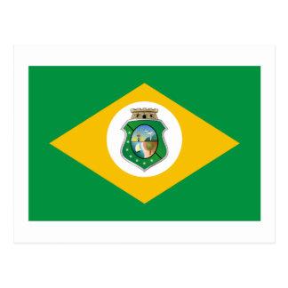 Ceará, Brazil Flag Postcards