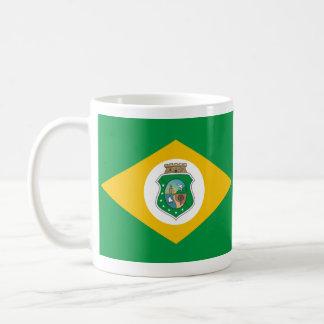 Ceara, el Brasil Taza Básica Blanca