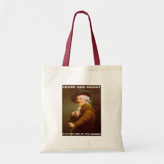 Cease And Desist Canvas Bags
