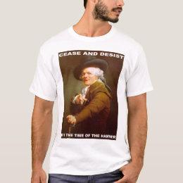 Cease and desist t shirts shirt designs zazzle cease and desist t shirt altavistaventures Choice Image