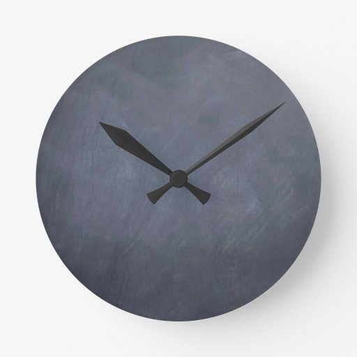 Ceate own Slate Chalkboard accessories - customize Clock