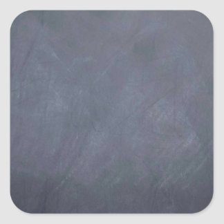 Ceate own Slate Chalkboard accessories - customize Square Sticker