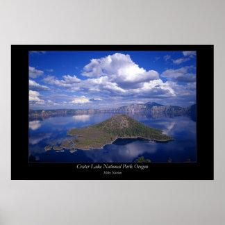 Ceater Lake National Park Oregon Poster