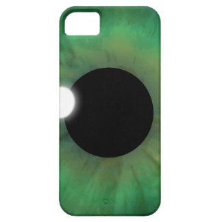 cebada de la casamata del iPhone 5 del ojo verde Funda Para iPhone SE/5/5s