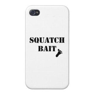 Cebo de Squatch iPhone 4/4S Carcasas