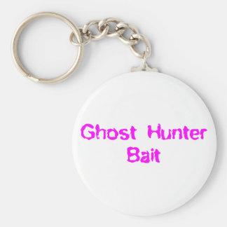 Cebo del cazador del fantasma llavero personalizado