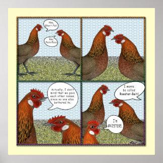 Cebo del gallo impresiones