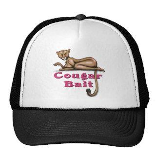 Cebo del puma gorras de camionero