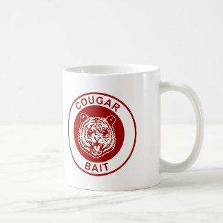 Cebo del puma taza de café