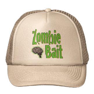Cebo del zombi gorras de camionero