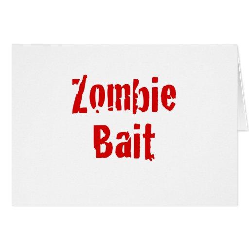 Cebo del zombi tarjetón