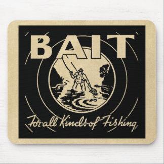 CEBO para todas las clases de pesca Alfombrilla De Raton