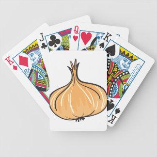 cebolla baraja cartas de poker