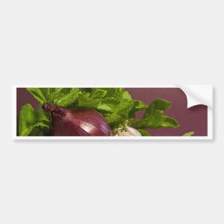 Cebolla Etiqueta De Parachoque