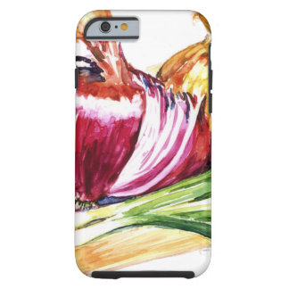 Cebolla - cebolla - coma sus Veggies Funda De iPhone 6 Tough