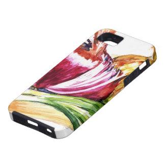 Cebolla - cebolla - coma sus Veggies iPhone 5 Case-Mate Cárcasas