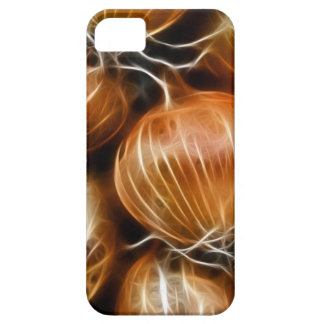 Cebolla de Fractalius iPhone 5 Carcasas