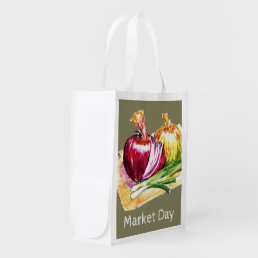 Cebolla - Onions - Eat Your Veggies Reusable Grocery Bag