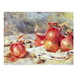 Cebollas de Pedro Renoir Postal