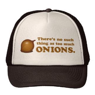 Cebollas divertidas gorra