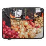Cebollas y patatas fundas para macbooks